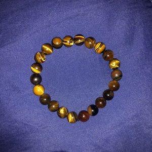 Other - Tigers Eye Mala Beads Bracelet